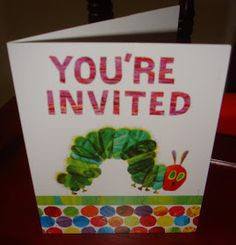 "it's me, andrea.: A ""Very Hungry Caterpillar"" birthday party."