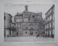 1928 - Plaza de la Constitución. Sepúlveda, Segovia.