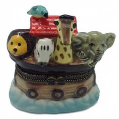 Children's Jewelry Boxes Noah's Ark
