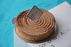 Caramel and Chocolate Tart from Patisserie Aoki