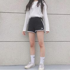 Look at this Stylish korean fashion outfits Ulzzang Fashion Summer, Korean Summer Outfits, Korean Fashion Casual, Korean Fashion Trends, Korean Street Fashion, Korea Fashion, Asian Fashion, Girl Fashion, Fashion Outfits