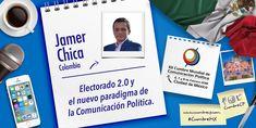 """""""Electorado 2.0 y el nuevo paradigma de la comunicación política"""". Será mi conferencia en la Cumbre Mundial de México 2018. . No te la puedes perder! El 6, 7 y 8 de Febrero nos vemos en Ciudad de México. #CumbreMX"""