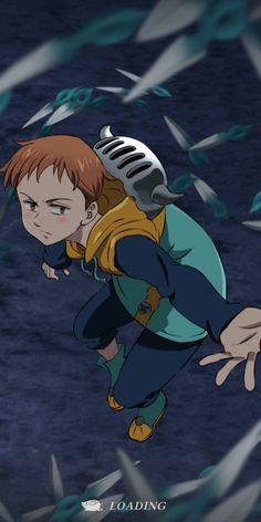 Seven Deadly Sins Anime, 7 Deadly Sins, Animes Wallpapers, Cute Wallpapers, Otaku Anime, Anime Art, Meliodas Vs, T Shirt Manga, Seven Deady Sins
