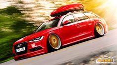 Audi Avant Hellaflush by x-tomi on DeviantArt Audi Wagon, Wagon Cars, Red Audi, Allroad Audi, Slammed Cars, Audi S5, Volkswagen Group, Audi Cars, Vw Passat