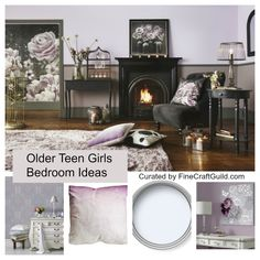 Fun Tips for Redecorating Your Teen Girl's Bedroom - Home Decor Heart Vintage Industrial Decor, Industrial Living, Living Room Mirrors, Teen Girl Bedrooms, Lounge Areas, Dream Decor, Dream Bedroom, Girl Room, Bean Bag Chair