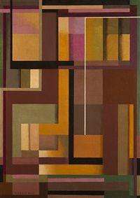 Composizione by Manlio Rho - 1956