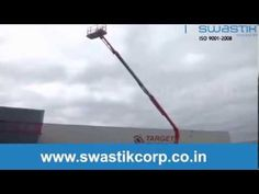Swatisk Corporation is manufacturers, suppliers and hirer of articulating boom lift which can be ideal for outdoor construction and industrial applications.