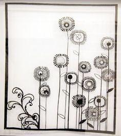 beautiful flower paper cut