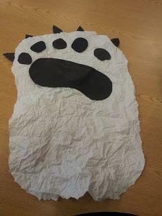 Mrs. Payton's Precious Kindergarteners: Polar Bear Fun! Step by step how-to
