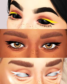 Byeliner digital dolls sims 4 cc makeup, sims mods y sims 4 Sims 4 Cc Skin, Sims 4 Mm Cc, Sims Four, Sims 4 Mods Clothes, Sims 4 Clothing, Sims 4 Traits, Pelo Sims, The Sims 4 Packs, Sims 4 Game Mods