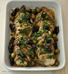 Through the years I've made Chicken Marbella many times for dinner parties and it's always a crowd pleaser. With itsirresistibleand al...