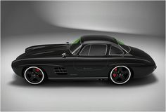"From the site: ""The 300SL Panamericana is a remake of the legendary Mercedes 300SL of the 50s...."""