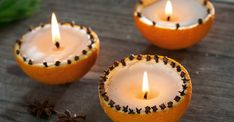 LandLove - Projects - Get creative with leftover wax Advent Candles, Diy Candles, Handmade Decorations, Xmas Decorations, Yule, White Christmas, Christmas Crafts, Orange Sherbert, Cool Gifts For Teens