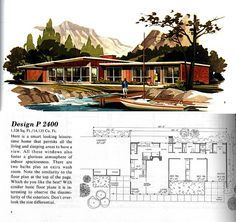 Mid Century Modern Ranch House Plans Lrg All About House and Floor Plans ~ mid century ranch home design mid century ranch style house plans house plans mid century modern ranch Mid Century Ranch, Mid Century House, Duplex Design, Modern House Design, Porch House Plans, Cabin Plans, Modern Floor Plans, Midcentury Modern House Plans, Vintage House Plans