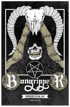 Bongripper Roadburn 2012 poster