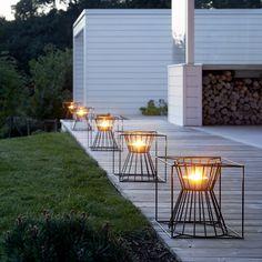 Boo fire baskets by Skargaarden.