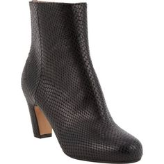Maison Martin Margiela Snake-Stamped Ankle Boots at Barneys.com