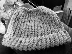 Messy Bun Beanie handmade by LizieWizie Crafty Creations.  https://www.facebook.com/LizieWizieCraftyCreations/