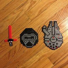 Star Wars perler beads by  jamiemueller0522