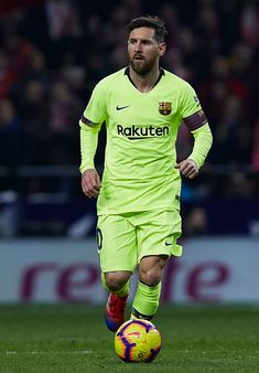 MADRID, SPAIN - NOVEMBER 24: Lionel Messi of FC Barcelona in action during the La Liga match between Club Atletico de Madrid and FC Barcelona at Wanda Metropolitano on November 24, 2018 in Madrid, Spain. (Photo by Quality Sport Images/Getty Images) Lional Messi, Messi Soccer, Action Wallpaper, Apple Wallpaper, Fc Barcelona, Super Pictures, Lionel Messi Wallpapers, Messi Photos, Uefa Champions