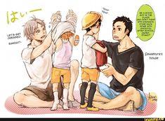 #yaoi, #daisuga, #gayness