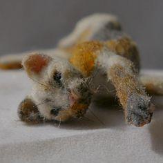 Miniature calico cat Dolls house pet ooak