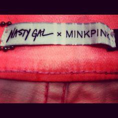 Nasty Gal x MINKPINK = <3    Instagram: @official_minkpink