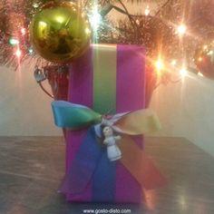 Embrulhos de presentes criativos para o Natal