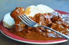 Czech Goulash is basically a simple Hungarian goulash. It is one of the many goulash