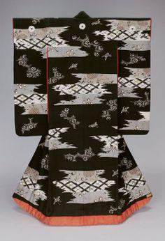Furisode kimono, Meiji period, 19th century, Japan