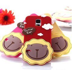 Cool Samsung Galaxy S5 Butter Lion Soft Case http://www.myicover.nl #popular -  #cute  fashion,  girl