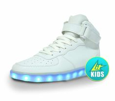 Ladies Breathable White Led Shoes Men Casual Glowing Shoes Adults Luminous Sneakers Young Couples Sneakers With Usb Charging Men's Casual Shoes