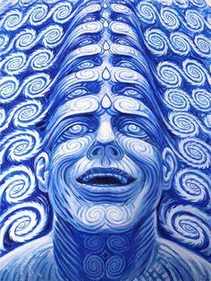 alex gray  creative psychedelic art