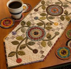 Tablerunner by Kim Diehl