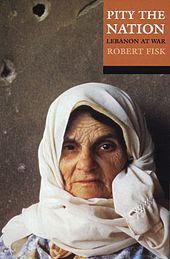 Another one to prep for my seminar next month, it's Robert Fisk on white-hot form.