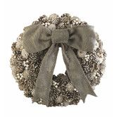 Found it at Wayfair - Trousseau Vintage Pine Cone and Pearl Wreath