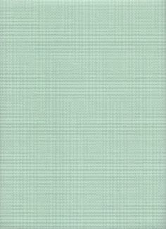 "DMC Needlework Fabric cotton Aida 14ct Light sea green 14/"" x 18/"""