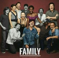 Can we all give this family some love?? #TheWalkingDead #twd #walkingdead #AMC