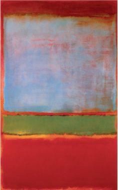 Daily Rothko Mark Rothko, No. 6 (Violet, Green and Red), 1951