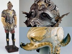 Wonderful Armor. Work of Filippo Negroli(1510-1579)
