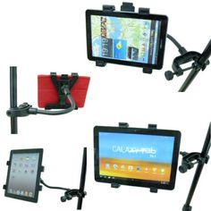 Leggio Spartiti Microfono Compatibile con Supporti per Tablet PC