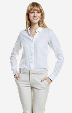 Biała koszula damska LAMBERT DL61LB8353