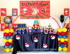 "Pokemon  / Birthday ""Pokemon Party "" 