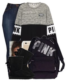 """""""Cold in Minnesota"""" by danimack03 ❤ liked on Polyvore featuring Victoria's Secret and UGG"""