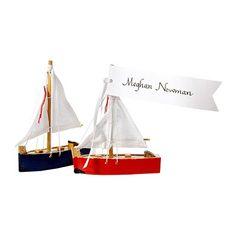 Nautical placecards