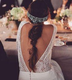 Gatsby the Magnificent Hochzeit Inspiration Pailletten amp Chantilly Bridal Braids, Bridal Fascinator, Bridal Headpieces, Bridal Hair, 1920s Wedding, Boho Wedding, Wedding Bride, Wedding Posing, 1920s Party
