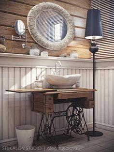 Гостевой туалет - Галерея 3ddd.ru