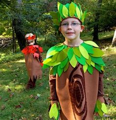 My Blog: Kids Costume Kits ~ Trees & Fairies, Oh My!
