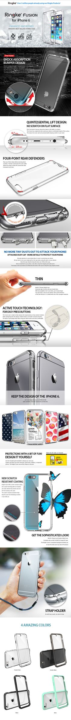 iPhone 6 Ringke clear case