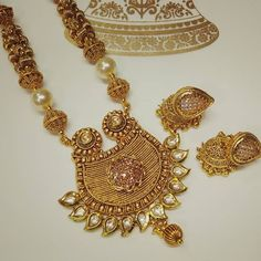 Beautiful Golden Necklace Set  #fashioncrab #jewelry #jewels #jewel #fashion #neckpiece #necklaces #gemstone #bling #stones #stone #trendy #accessories #love #crystals #beautiful #ootd #style #fashionista #accessory #instajewelry #stylish #cute #jewelrygram #fashionjewelry